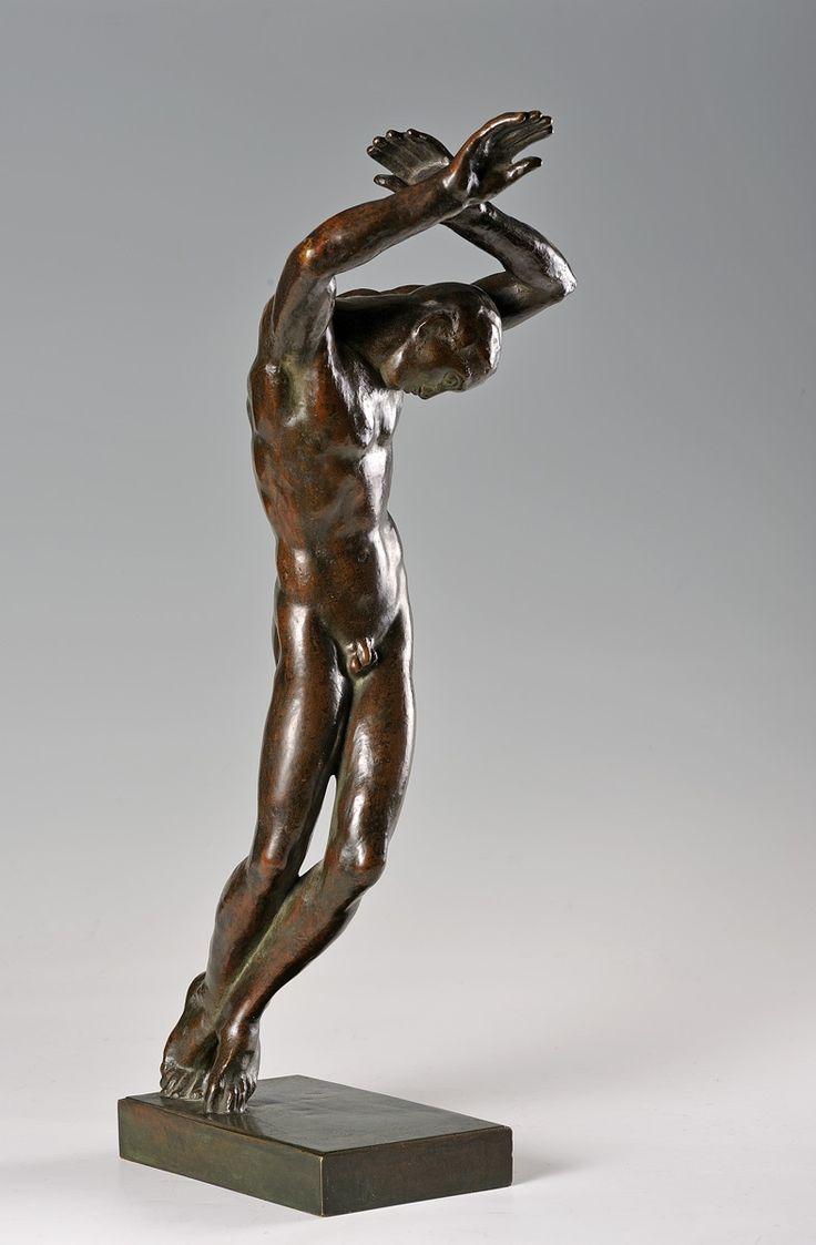 Jan Štursa - Wounded (1921) #sculpture #Czechia #art