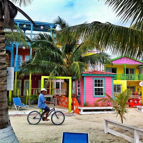 Staying in Caye Caulker instead of Ambergris Caye is one of the 30 ways to save money on a Belize vacation
