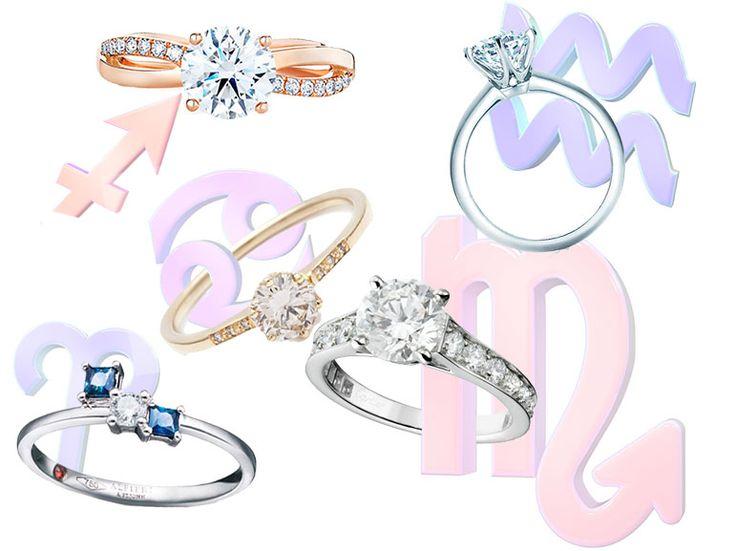 L'anello di fidanzamento per ogni segno zodiacale - Grazia.it