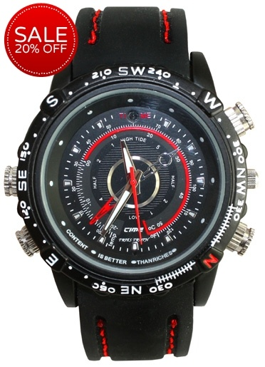 Not just a watch; it's a digital video recorder too!