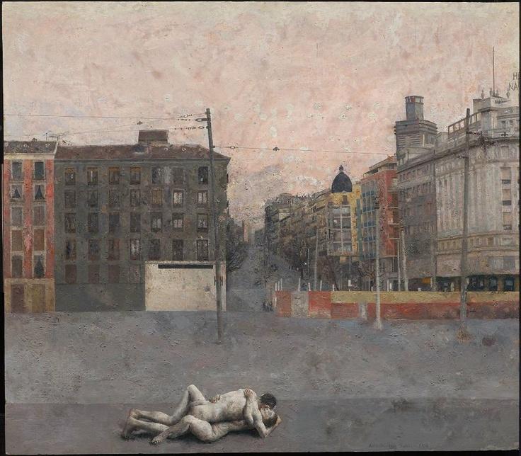 Atocha by Antonio Lopez Garcia