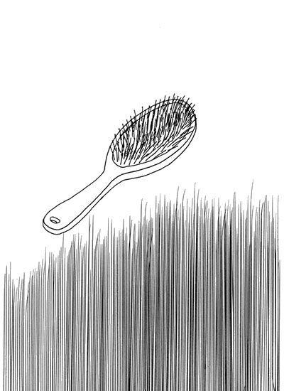 Hair Brush - David Shrigley
