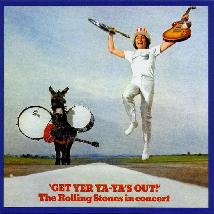 The Rolling Stones - Get Yer Ya-Ya's Out on 180g Clear Vinyl LP