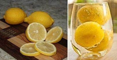 Yanıbaşınızda limon dilimleri ile...