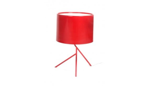 Stick Man Table Lamp - Red