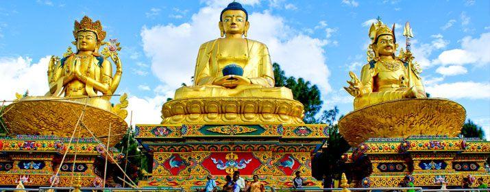 Утром экскурсия по Бодхгае – небольшому городу, расположенному в месте, где Будда получил просветление. В соответствии с буддийской традицией, около 500 до н.э. принц Гаутама Сддхартха, странствующий как монах, достиг берегов реки Фалгу около города Гая. Там он расположился для медитации под деревом Бодхи (фикус религиозный).