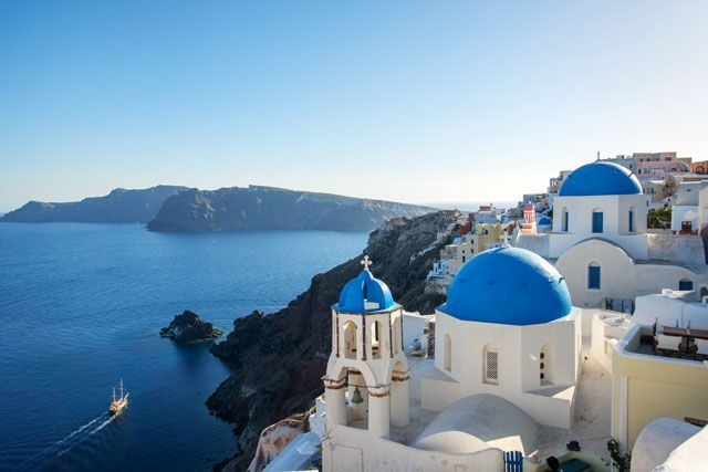 11 Destinations Where You Can Island-Hop On A Budget #refinery29  http://www.refinery29.com/cheap-island-hopping-guide#slide-4  GreeceFrom romantic Santorini sunsets to the sandy beaches of Naxos and nightclubs of Mykonos, island hopping is one of the greatest joys of visiting Greece. Valid for one month, the Eurail Greek Islands pass offers six ferry trips for $206 ($186 for those under the ...
