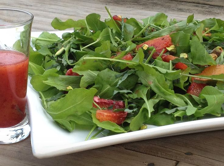 Blood Orange Rocket Salad