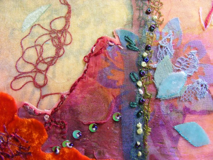 'Summer 1976' (detail) Embroidery