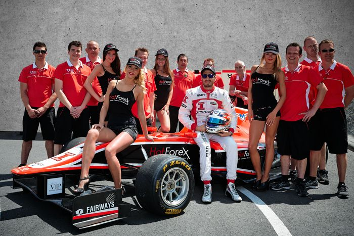 HotForex is proud to sponsor Tio Ellinas, a Cypriot race car driver who joined Marussia Manor Racing for the 2012/13 GP3 Series season. #forex #trading #GP3 #Marussia  #HotForex #sponsor #Formula #TioEllinas