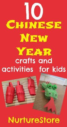 This egg box dragon craft is great for junk model fans, as a St.George's Day craft or a Chinese New Year activity. How to make an egg box dragon You will need: :: 3 egg boxes ::green paint & a paint brush, :: red paper