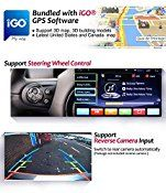 Corehan 7″ inch Android 5.1 Double Din In Dash Radio Car Video Player with Bluetooth Wifi GPS Navigation System