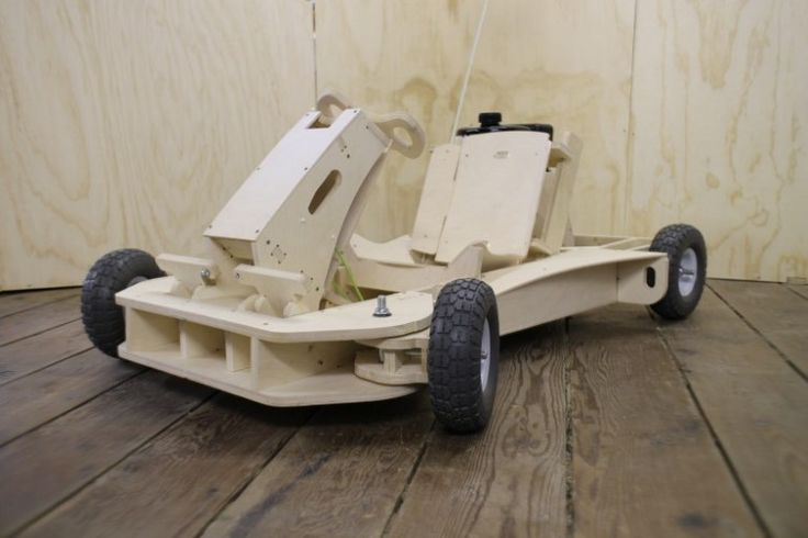 Flat packed go-kart can be made in hours and hits 25mph