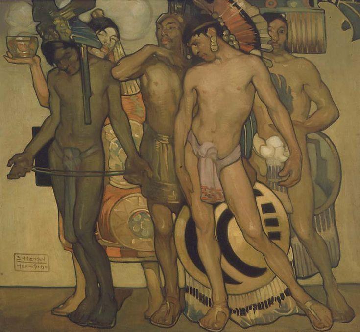 Nuestros dioses antiguos, Herran Saturnino, 1916