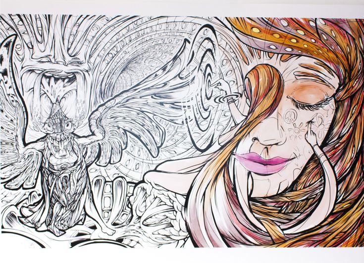 Trippy Dancer Print