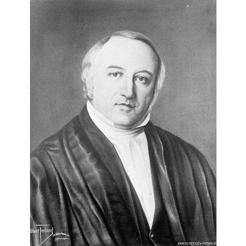 MORIN, AUGUSTIN-NORBERT, avocat, homme politique et juge, né le 13 octobre 1803 à Saint-Michel (Saint-Michel-de-Bellechasse, Québec), fils aîné d'Augustin Morin, cultivateur, et de Marianne Cottin, dit Dugal; il épousa le 28février1843 Adèle Raymond, fille de Joseph Raymond, marchand, et sœur de Joseph-Sabin Raymond*, supérieur du séminaire de Saint-Hyacinthe (aucun enfant ne naquit de cette union); décédé à Sainte-Adèle, Bas-Canada, le 27juillet1865.