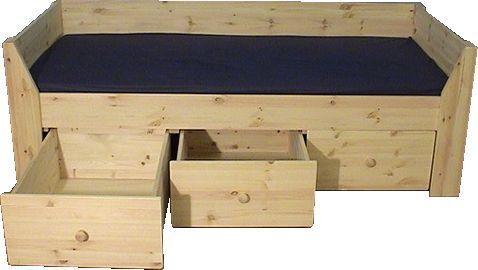 25 beste idee n over houten lattenbodems op pinterest lattenbodems en platform bedden - Massief houten platform bed ...