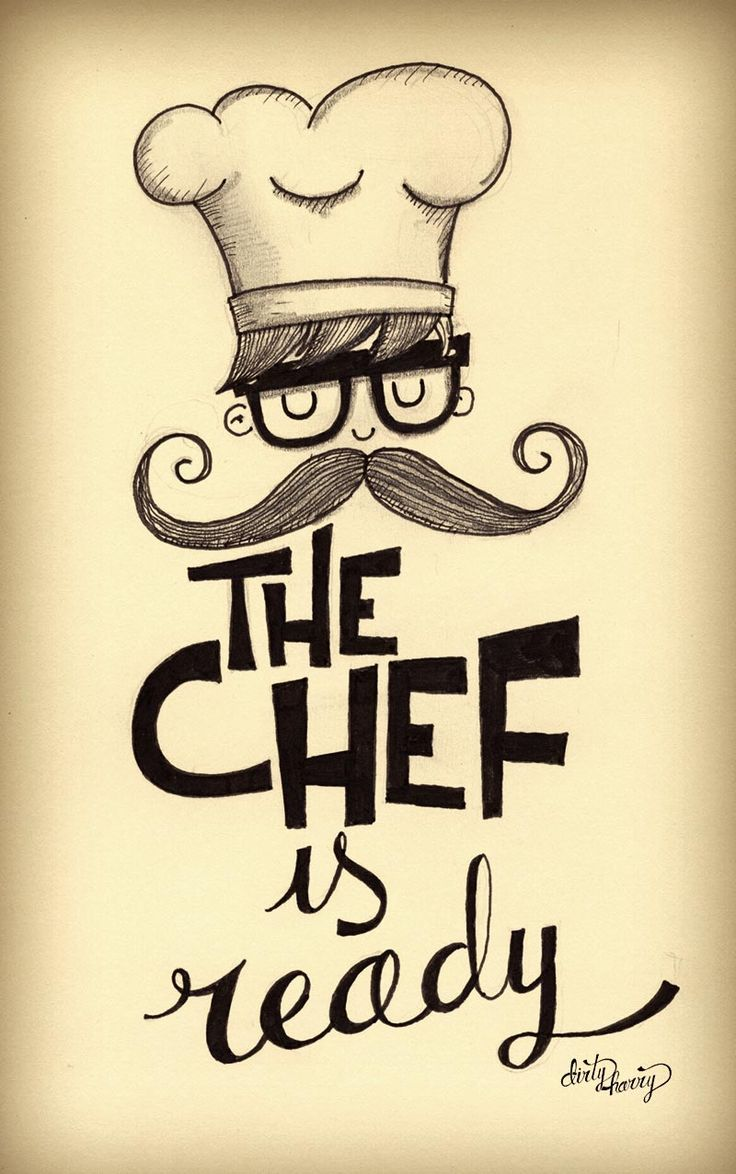 "Moleskine6 - Dirty Harry ilustracion ""the chef..."""