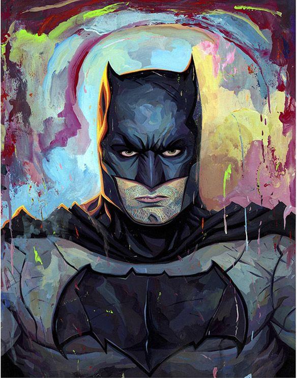Batman v Superman - Batman Art Print