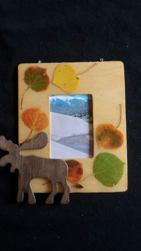 aspen leaf picture frame 7 mobilemadness etsy - Etsy Picture Frames