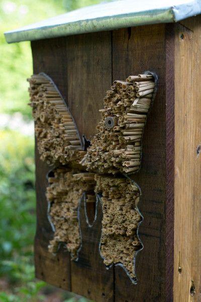 Crédit photo : Hôtel à insectes Bercy - Jean-Pierre Viguié