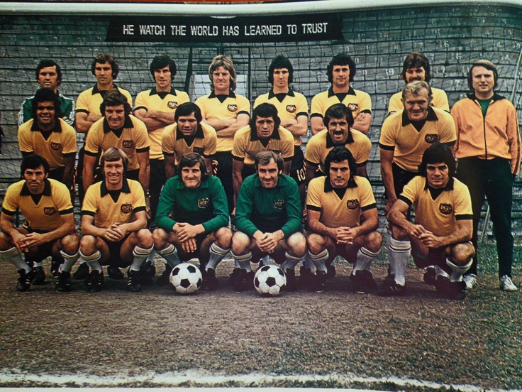 The #Socceroos in Hong Kong, 1973. #ITYS (From the book: Soccer, The Australian Way by Johnny Warren & Andrew Dettre).