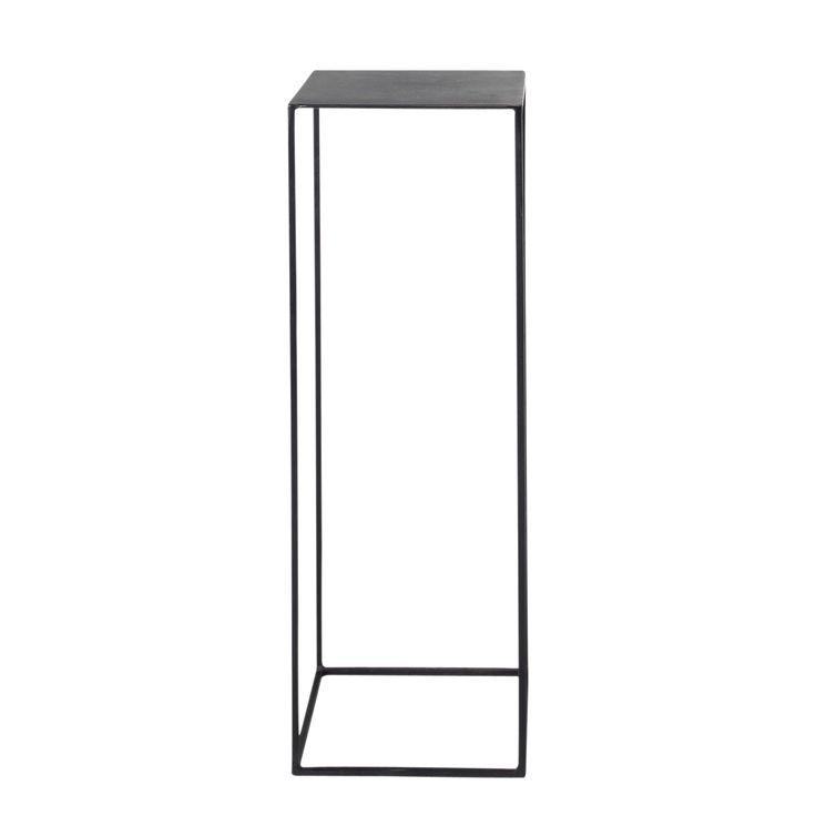 Leuchtertisch im Industrial-Stil aus Metall, B 30 cm, schwarz Edison Für den Eingangsbereich?