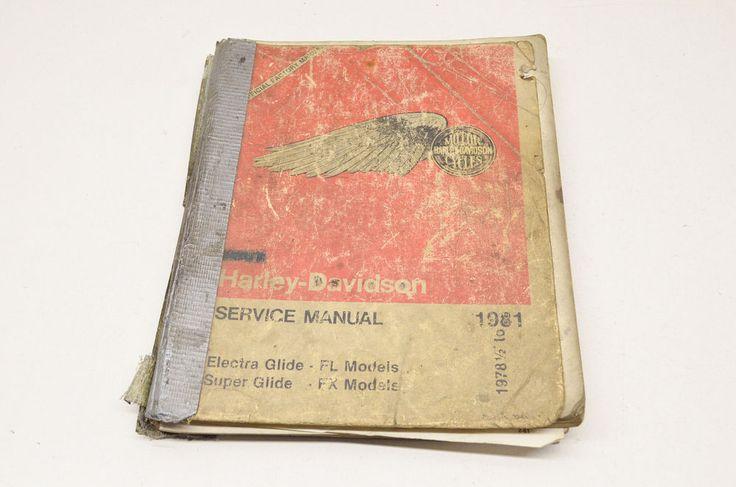 OEM Harley Davidson Service Manual 1978 1/2- 1981 Electra Glide FL, Super Glide  | eBay Motors, Parts & Accessories, Manuals & Literature | eBay!