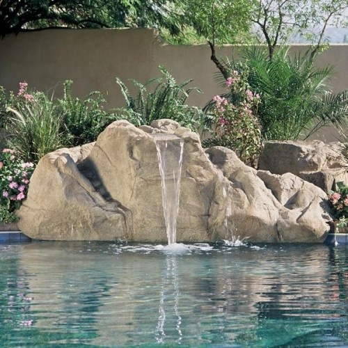 Artificial rocks products i love pinterest pools for Waterfall supplies