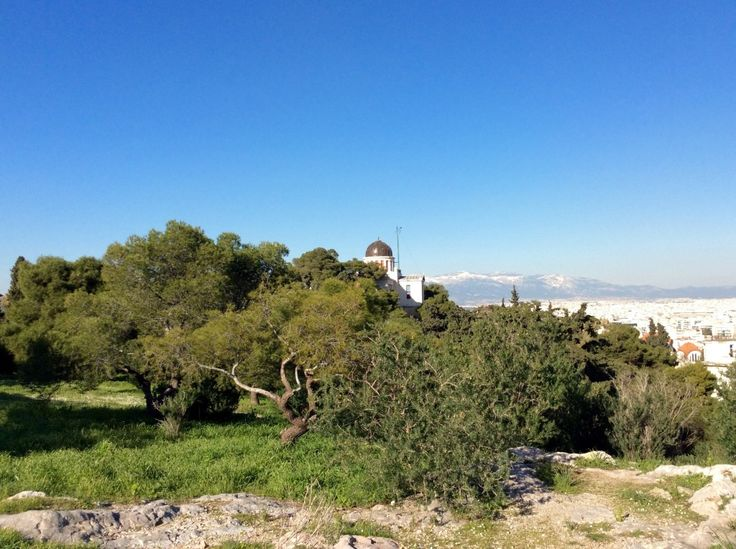 A stroll on the hills of Athens, with map!