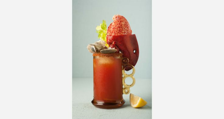 Drink Porn: The Caesar. by Chef Fred Morin for Joe Beef - Montreal.