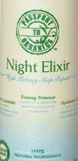 Organic Night Elixir - High Potency Sleep Repair Cream with French lavender, evening primrose, and hyaluroinc acid - Paraben Free! by Passport to Organics. $52.00. REPAIR, RENEW and DE-STRESS your skin at night. Antioxidants - Fights free radicals - Anti-aging - Moisture - Organic. Made with certified organic ingredients - Certified Vegan - Paraben Free - Sulfate Free (SLS free) - Phthalate Free - No artificial fragrances. FREE Super Saver Shipping!  FREE Sample Si...