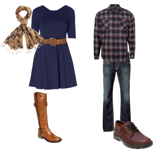 """""""Outfit for couple's photos"""" by dwonch on Polyvore"""