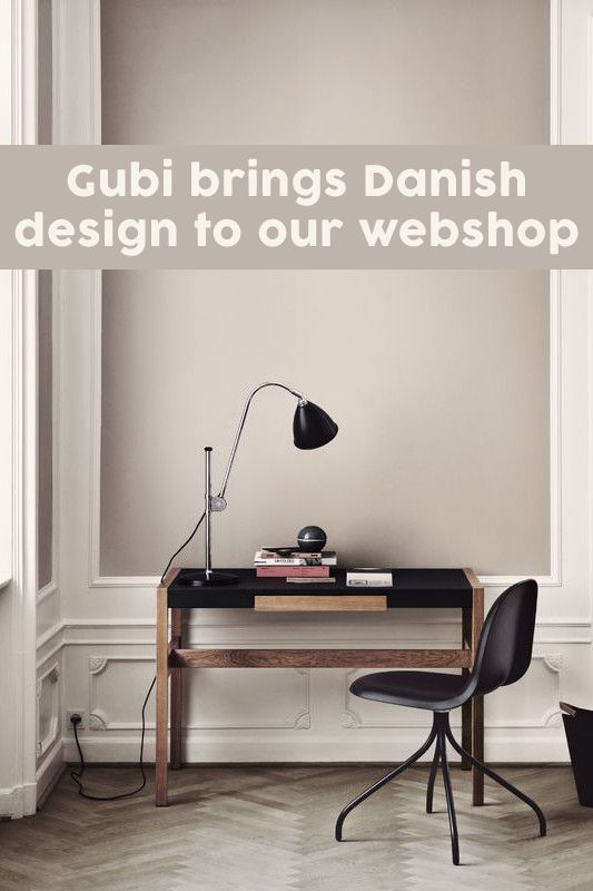 Gubi brings danish design to our webshop dmlights blog