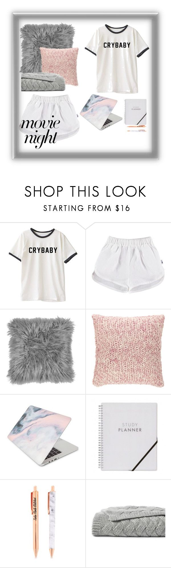 """🔪🖤"" by daryanalifeee ❤ liked on Polyvore featuring Pine Cone Hill, Recover and Lands' End"