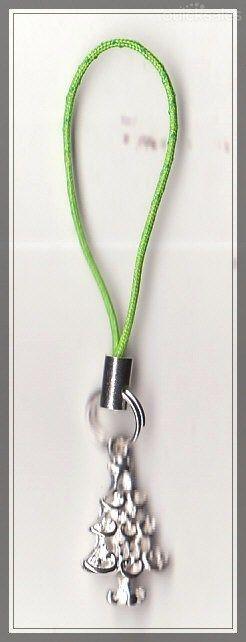 Christmas Tree Charm Mobile Phone/Bag Dangle  by MadAboutIncense - $6.50