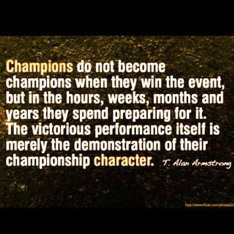 Champion. equestrian