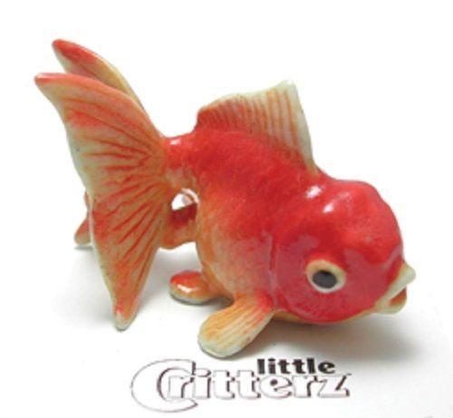 "LC242 Fantail Goldfish named ""Fancy""-Porcelain Figurine"