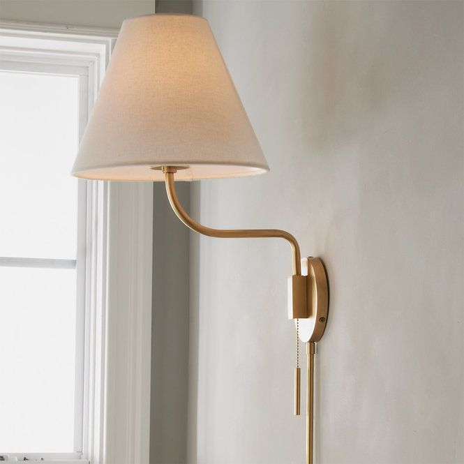 Transitional Swing Arm Sconce Wall Lamp Shades Swing Arm Wall