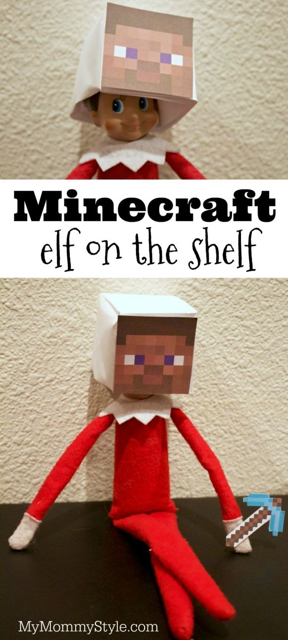 Fun elf on the shelf Minecraft idea.