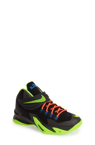 Nike 'Zoom LeBron Soldier VIII' Basketball Shoe (Big Kids) available at #
