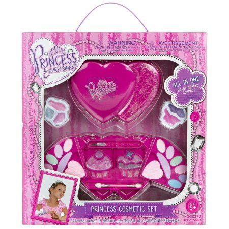 Princess Expressions Heart 34-Piece Cosmetic Set