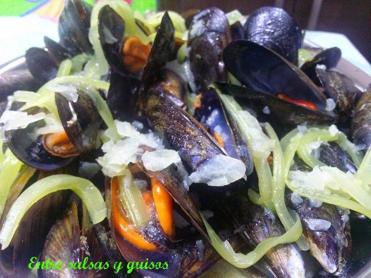 Entre salsas y guisos: Mejillones a la marinera al estilo belga