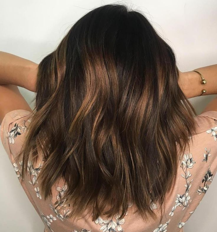The 25 best subtle brown highlights ideas on pinterest brown 80 sensational medium length haircuts for thick hair subtle brown balayage hair pmusecretfo Image collections