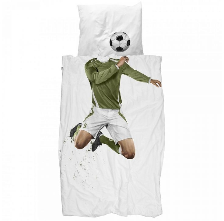 Snurk Dekbed 1-persoons voetbal