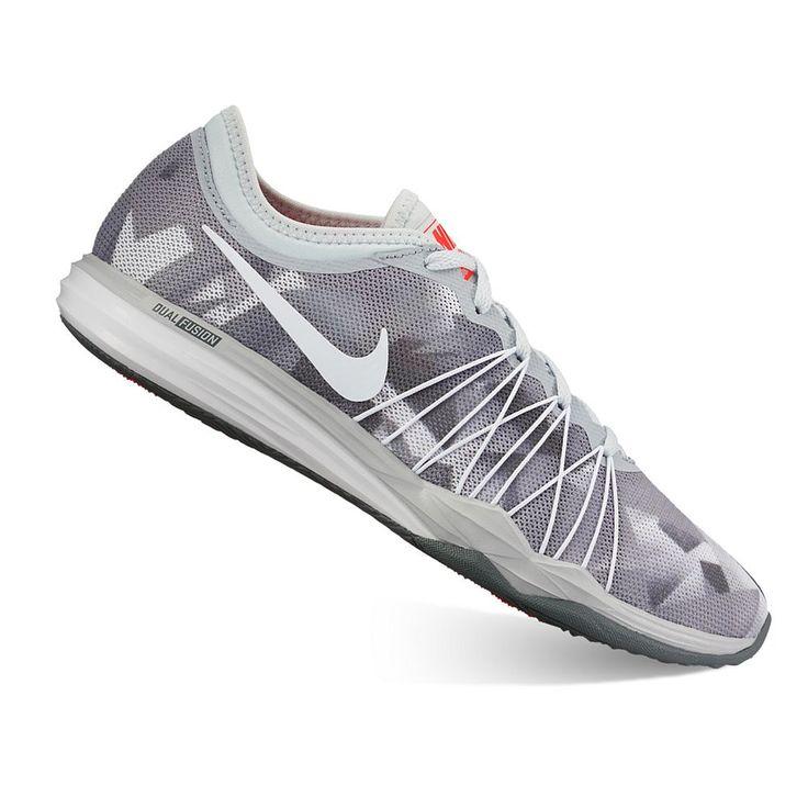 Nike Dual Fusion HIT Print Women's Cross Training Shoes, Size: 10.5, Oxford
