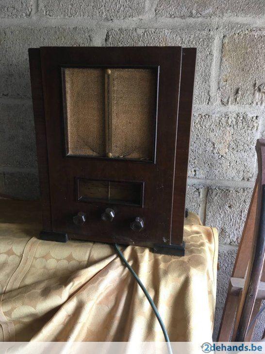 Antieke RADIO SBR 373 bouwjaar 1936