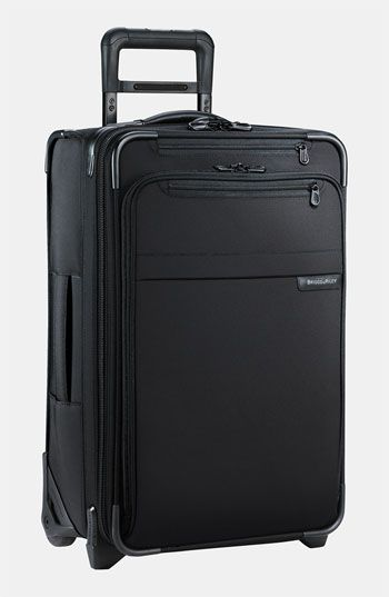 Men's Briggs & Riley 'Baseline' Domestic Expandable Rolling Carry-On - Black (22 Inch)