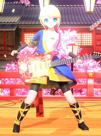 74 best project diva photos images on pinterest hatsune miku divas and cosplay ideas - Kagamine rin project diva ...