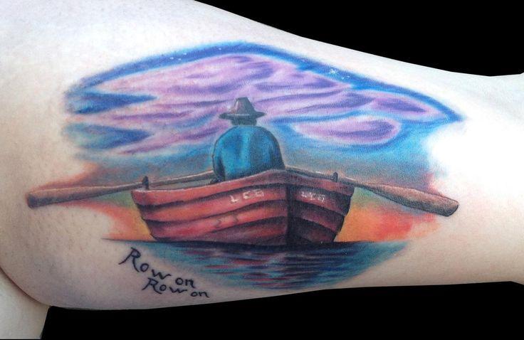 Row boat by Ricky Borchert -
